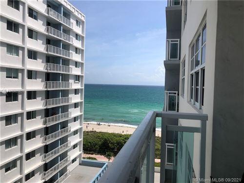 Photo of 6917 Collins Ave #1010, Miami Beach, FL 33141 (MLS # A10605638)