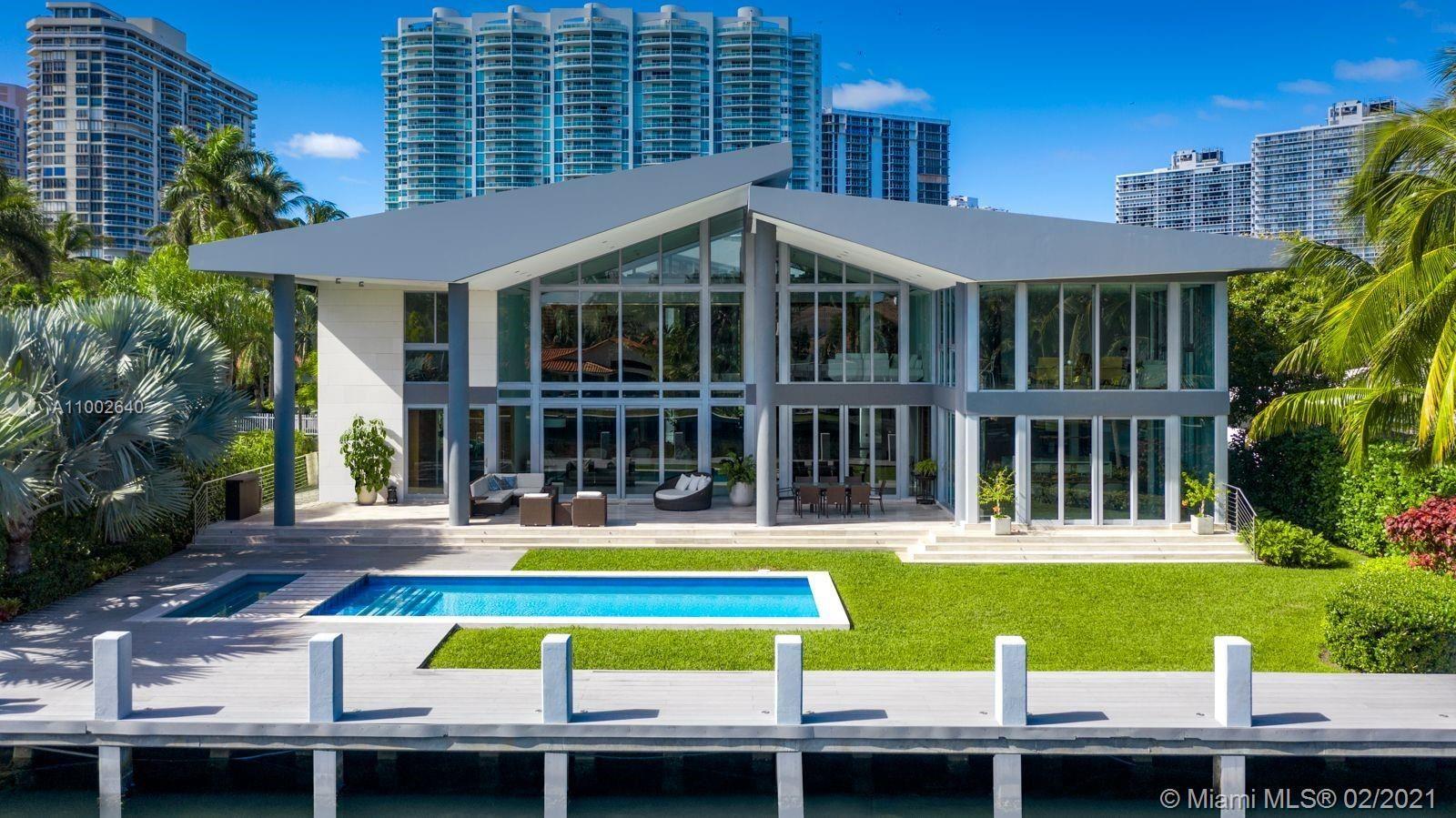 Photo of 325 Centre Is, Golden Beach, FL 33160 (MLS # A11002640)