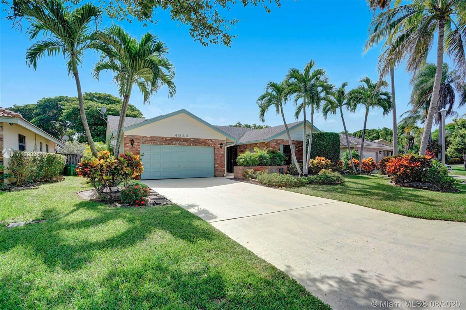 4026 NW 70th Ave, Coral Springs, FL 33065 - #: A10903642
