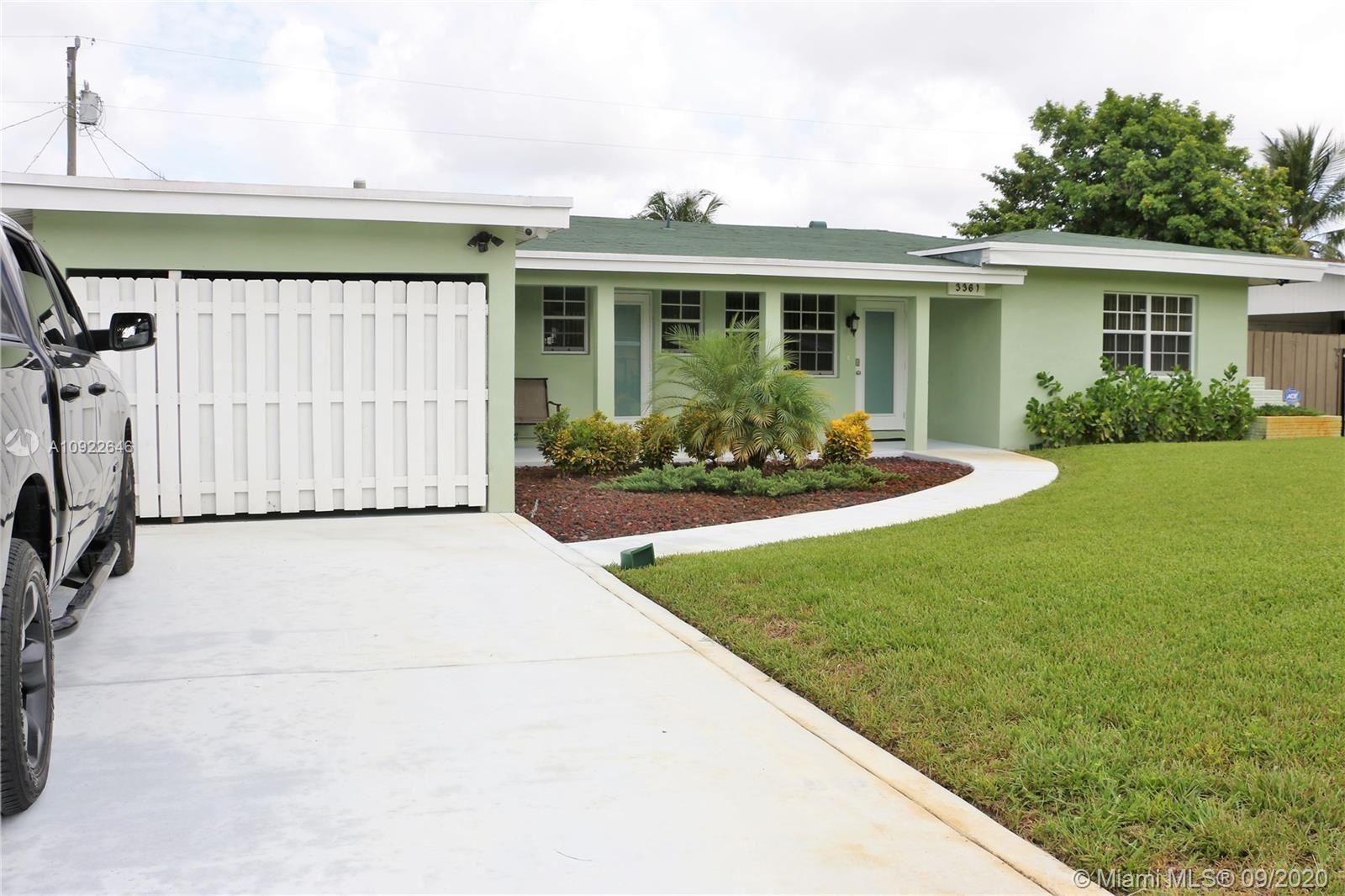 3361 Jackson Blvd, Fort Lauderdale, FL 33312 - #: A10922646