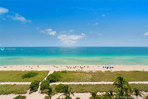 Photo of 9499 Collins Ave #501, Surfside, FL 33154 (MLS # A10822648)