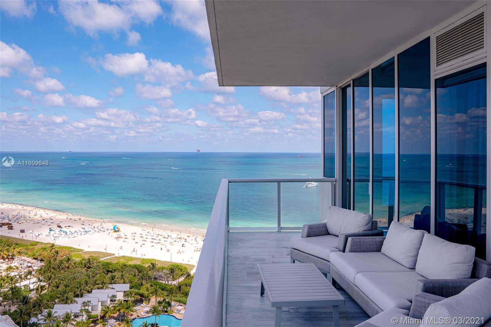100 S Pointe Dr #2110, Miami Beach, FL 33139 - #: A11009648