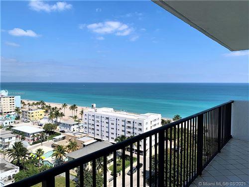 Photo of 1201 S Ocean Dr #1504N, Hollywood, FL 33019 (MLS # A11008650)