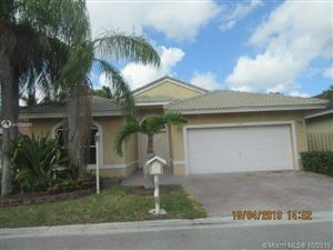 Photo of Listing MLS a10755653 in 11591 SW 10th St Pembroke Pines FL 33025