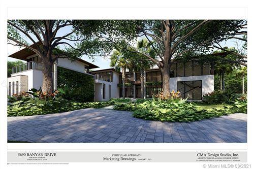 Photo of 5690 Banyan Dr, Coral Gables, FL 33156 (MLS # A11020653)