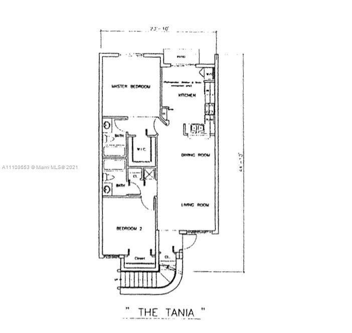 13165 SW 64th Ter #1007, Miami, FL 33183 - #: A11108653