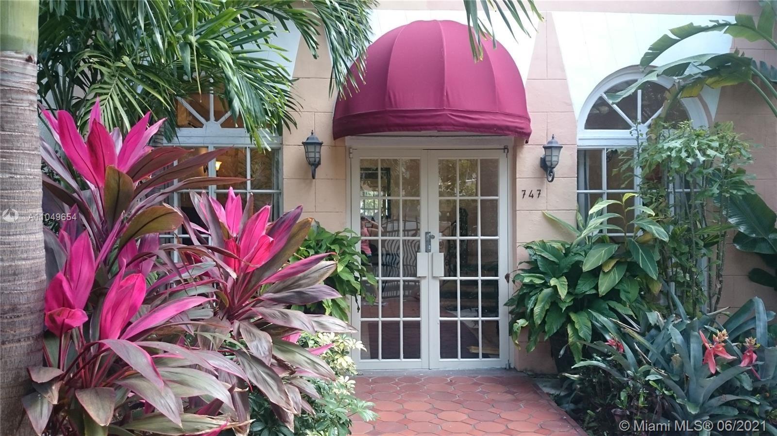 747 Michigan Ave #101, Miami Beach, FL 33139 - #: A11049654
