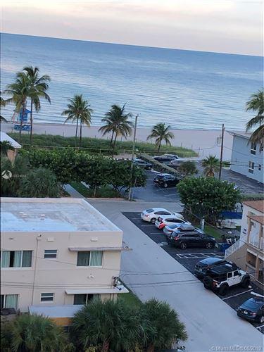 Foto de inmueble con direccion 1601 S Ocean Dr #805 Hollywood FL 33019 con MLS A10724655