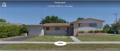 Foto de inmueble con direccion 1145 NE 176th St North Miami Beach FL 33162 con MLS A10852658