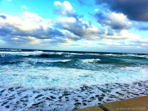 Photo of 3575 S Ocean Blvd #303, South Palm Beach, FL 33480 (MLS # A10982658)