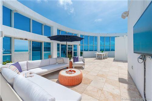Photo of 3801 Collins Ave #PH-1, Miami Beach, FL 33140 (MLS # A11017661)