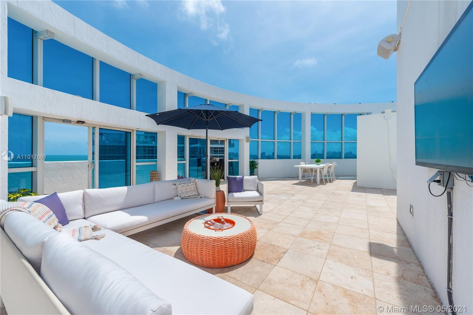 3801 Collins Ave #PH-1, Miami Beach, FL 33140 - #: A11017661