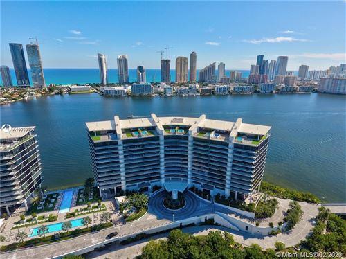 Photo of 5000 Island Estates Dr #1504, Aventura, FL 33160 (MLS # A10998663)