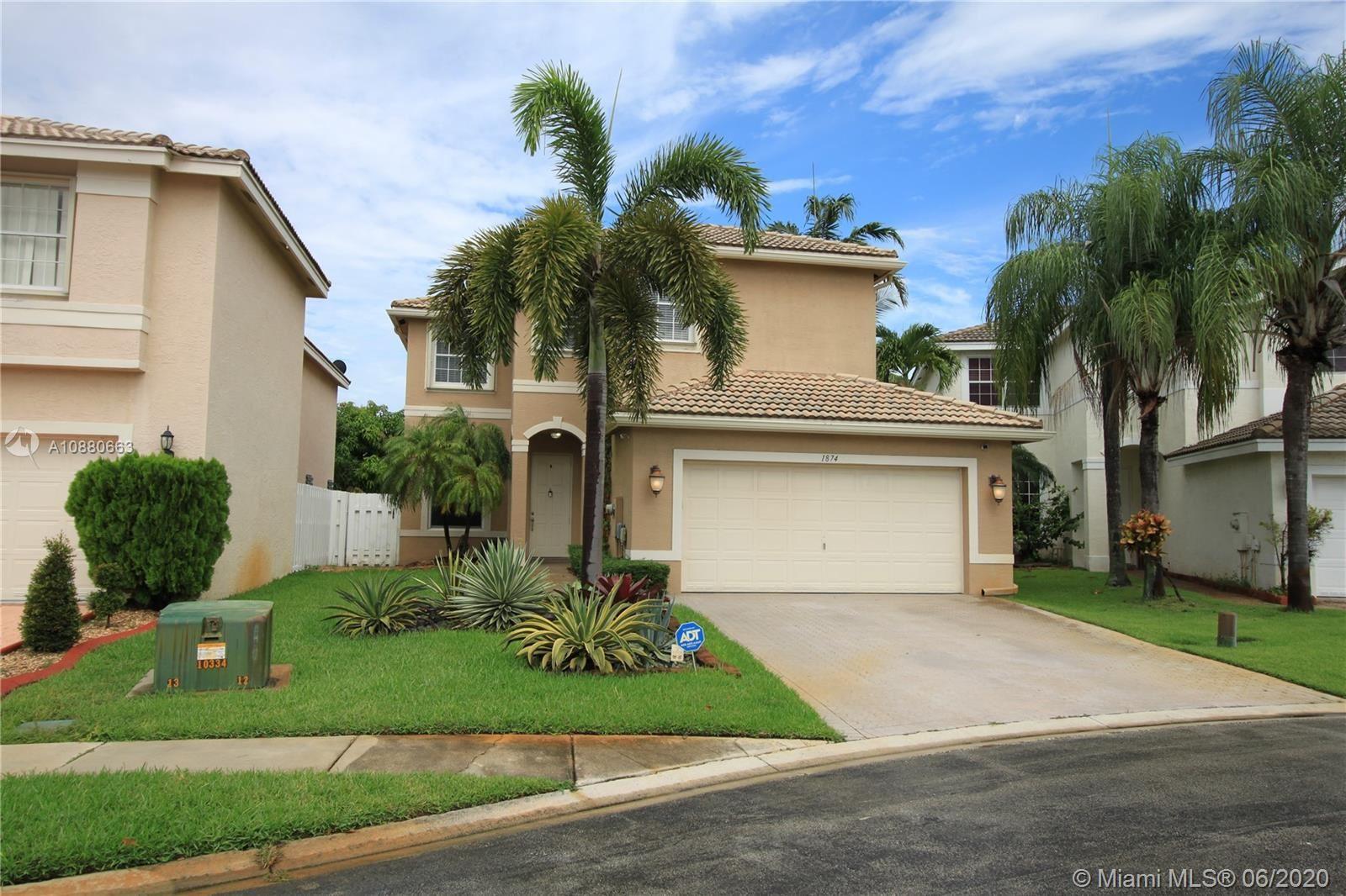1874 SW 149th Ave, Miramar, FL 33027 - #: A10880663