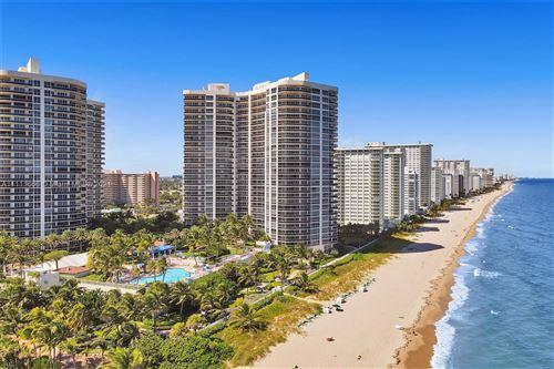 Photo of 3200 N Ocean Blvd #2309, Fort Lauderdale, FL 33308 (MLS # A11111666)