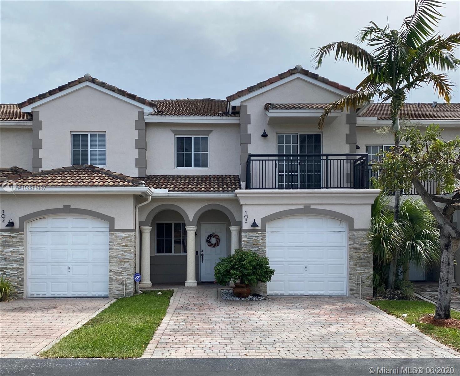 8441 SW 124th Ave #103, Miami, FL 33183 - #: A10884667