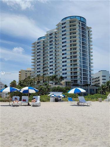 Photo of 3801 Collins Ave #904, Miami Beach, FL 33140 (MLS # A11072669)
