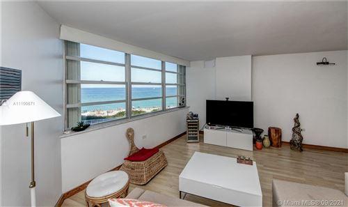Photo of 7135 Collins Ave #512, Miami Beach, FL 33141 (MLS # A11100671)