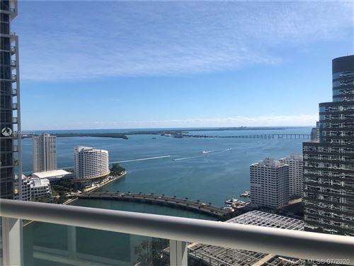 Photo of 485 Brickell Ave #3409, Miami, FL 33131 (MLS # A10898672)
