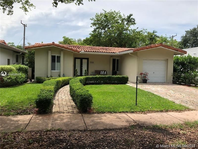 Photo of 914 Pizarro St, Coral Gables, FL 33134 (MLS # A11095672)