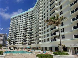 Photo of 3725 S Ocean Dr #617, Hollywood, FL 33019 (MLS # A10659675)