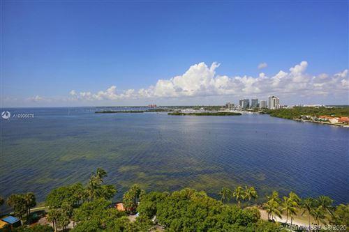 Photo of 1 Grove Isle Dr #A1508, Coconut Grove, FL 33133 (MLS # A10906676)