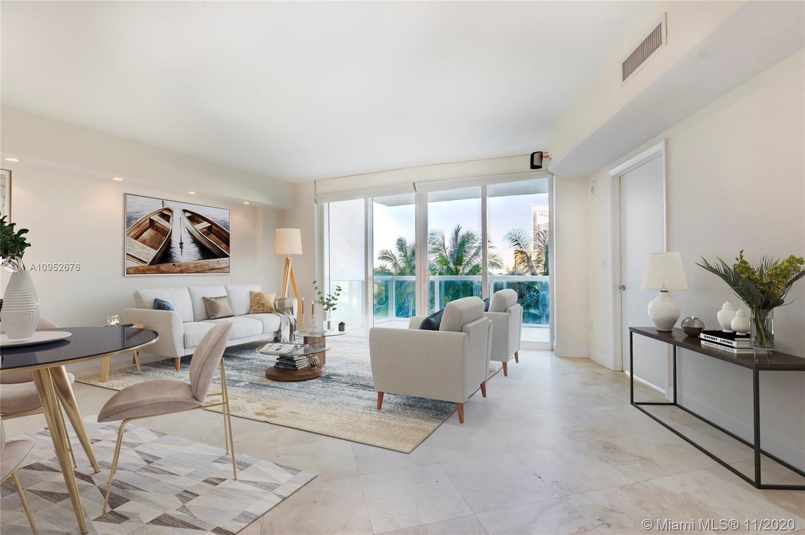 1000 S Pointe Dr #706, Miami Beach, FL 33139 - #: A10952676