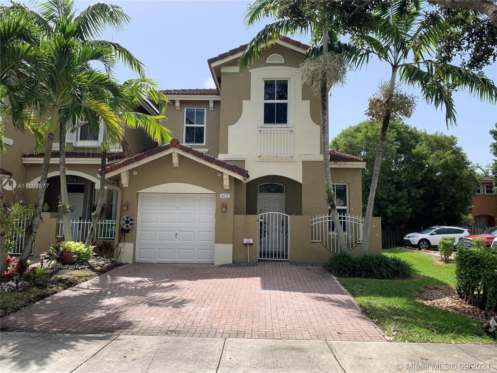 962 SW 154 CT #0, Miami, FL 33194 - #: A11092677