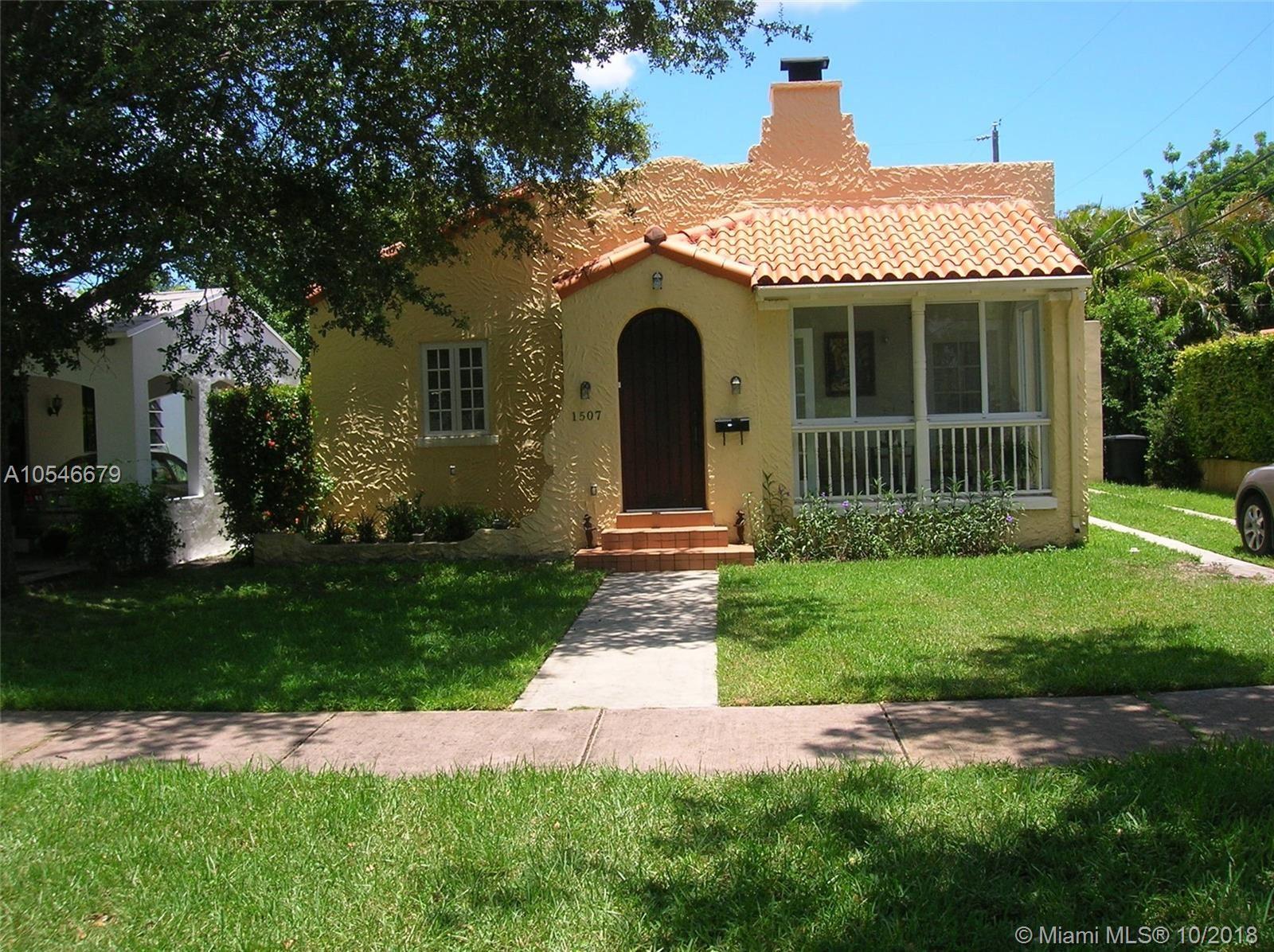 1507 Columbus Blvd, Coral Gables, FL 33134 - #: A10546679