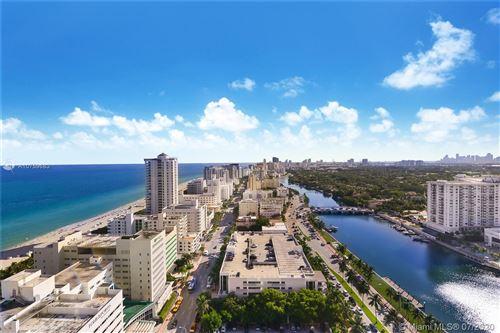 Photo of 4401 Collins ave #2606&2608, Miami Beach, FL 33140 (MLS # A10759683)