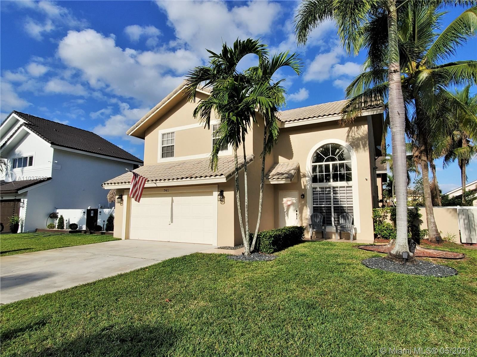 Photo of 741 NW 207th Ter, Pembroke Pines, FL 33029 (MLS # A11037683)
