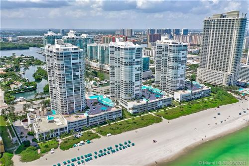 Photo of 16425 Collins Ave #PH11 & PC12, Sunny Isles Beach, FL 33160 (MLS # A11062684)
