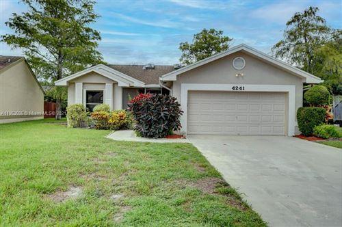 Photo of 4241 Green Forest Way, Boynton Beach, FL 33436 (MLS # A11063686)
