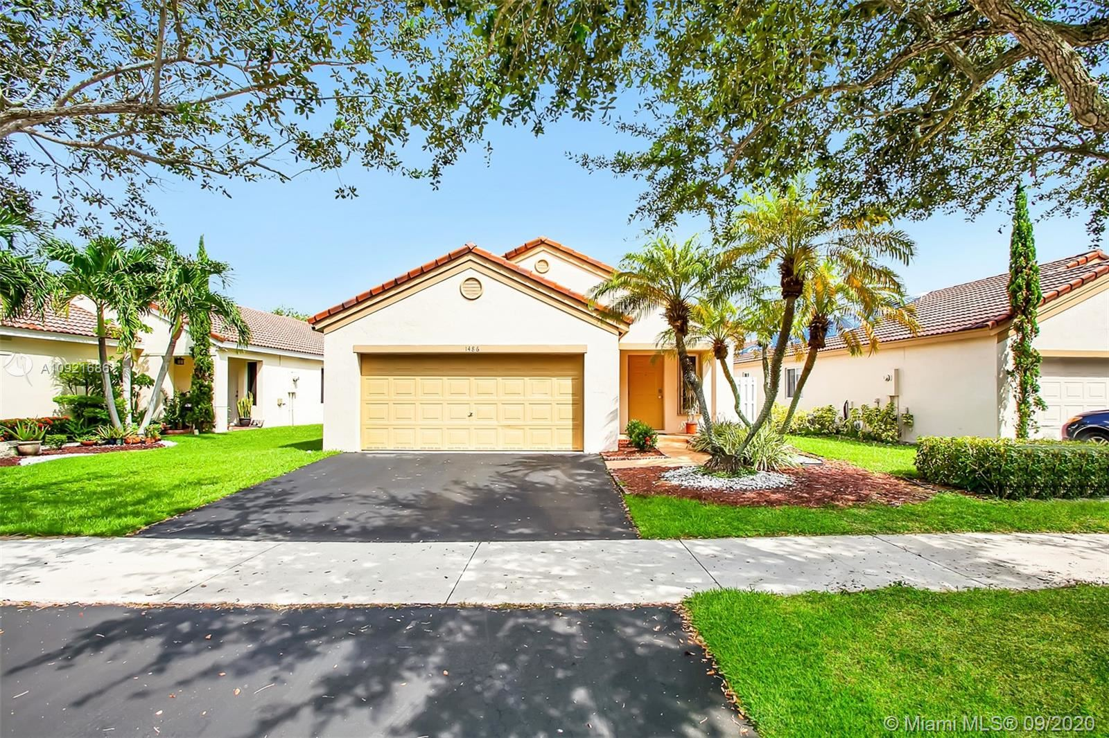 1486 Mira Vista Cir, Weston, FL 33327 - #: A10921686