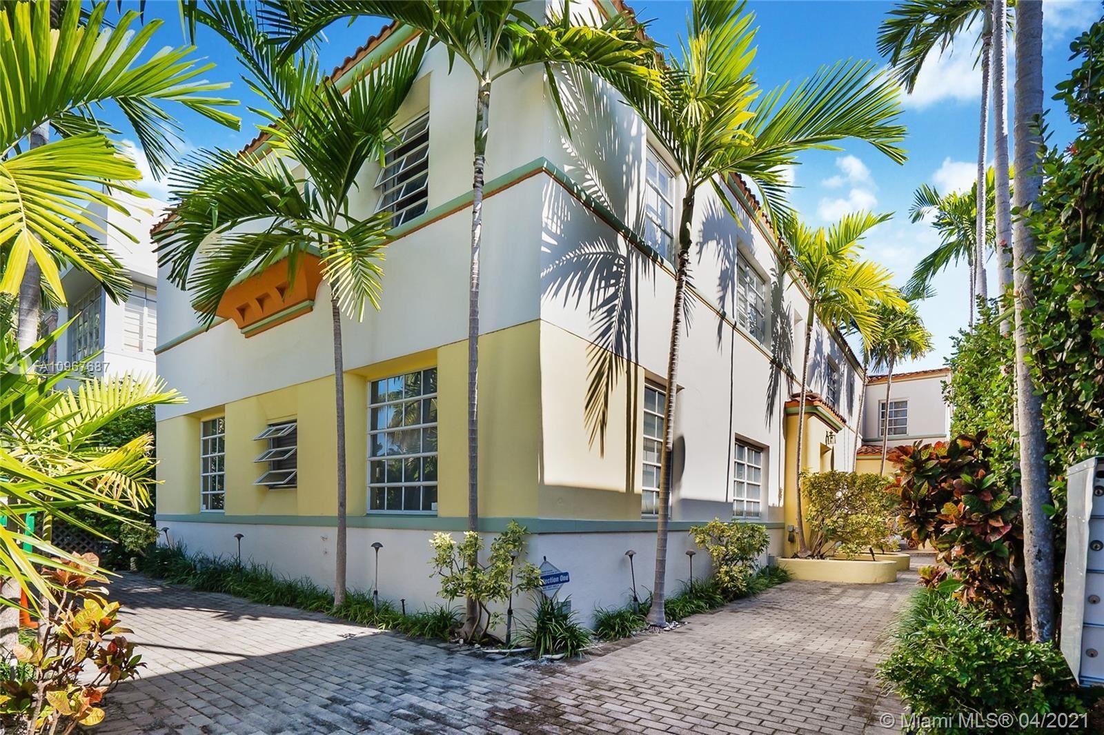 1605 Euclid Ave #D1, Miami Beach, FL 33139 - #: A10967687