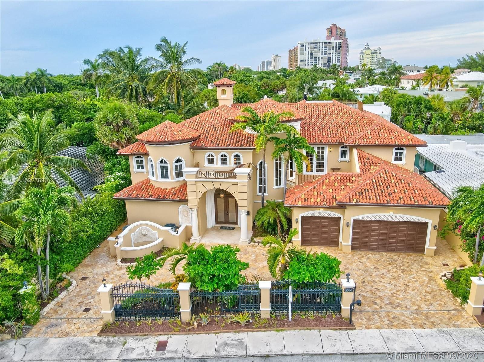Photo of 3307 NE 16th St, Fort Lauderdale, FL 33304 (MLS # A10927690)