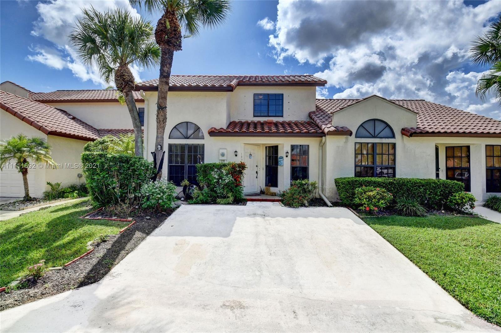 10300 W Hidden Springs Ct #10300, Boca Raton, FL 33498 - #: A11111692