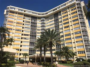 Photo of 100 Golden Isles Dr #307, Hallandale, FL 33009 (MLS # A10631693)