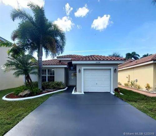 Photo of 2538 SW 177th Ave, Miramar, FL 33029 (MLS # A10783693)