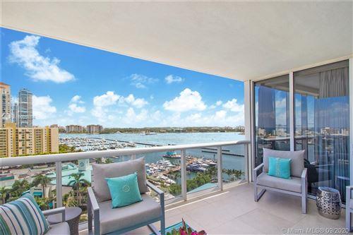 Photo of 400 Alton Rd #1410, Miami Beach, FL 33139 (MLS # A10923694)