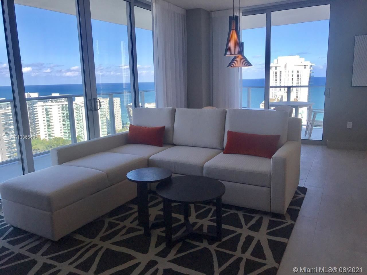Photo of 4010 S Ocean Dr #1501, Hollywood, FL 33019 (MLS # A10866695)