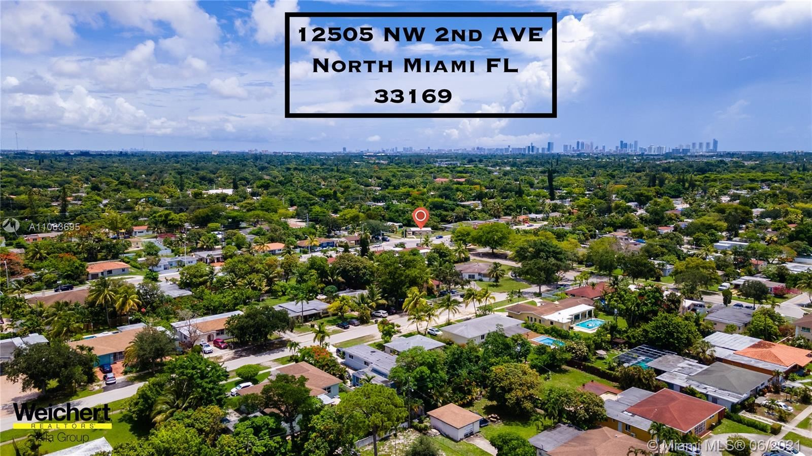 12505 NW 2nd Ave, North Miami, FL 33168 - #: A11063695