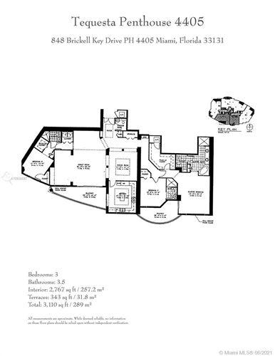 Photo of 848 Brickell Key Dr #LPH4405, Miami, FL 33131 (MLS # A10938697)
