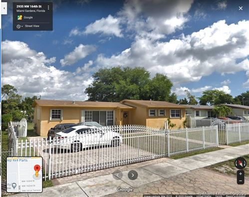 Photo of 2935 NW 164th St, Miami Gardens, FL 33054 (MLS # A10943697)