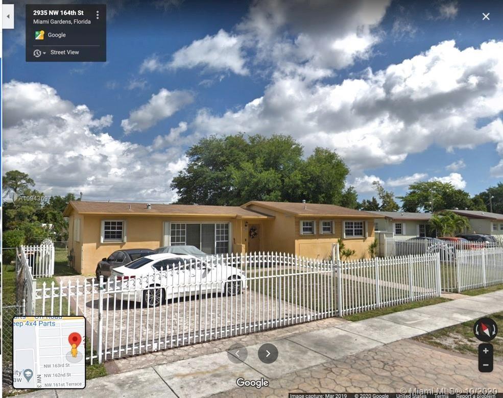 2935 NW 164th St, Miami Gardens, FL 33054 - #: A10943697
