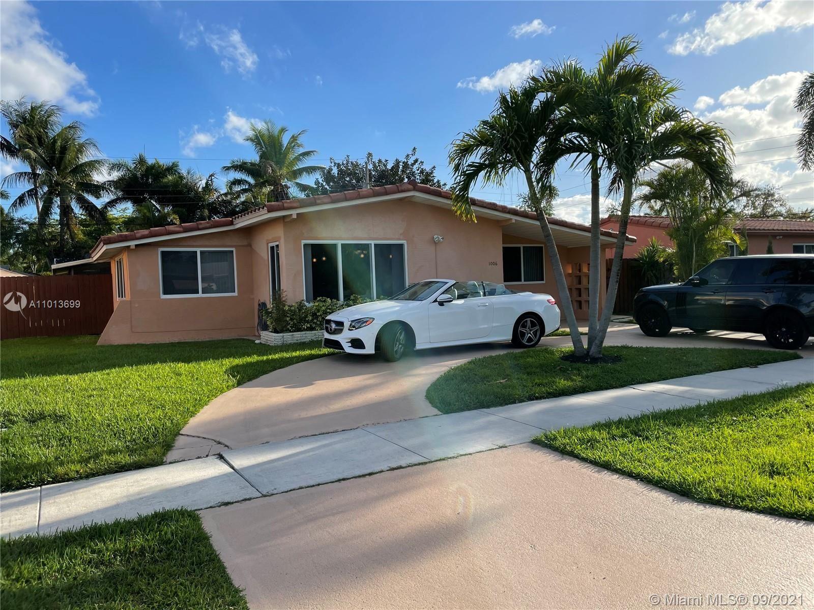 1006 NE 6th St, Hallandale Beach, FL 33009 - #: A11013699