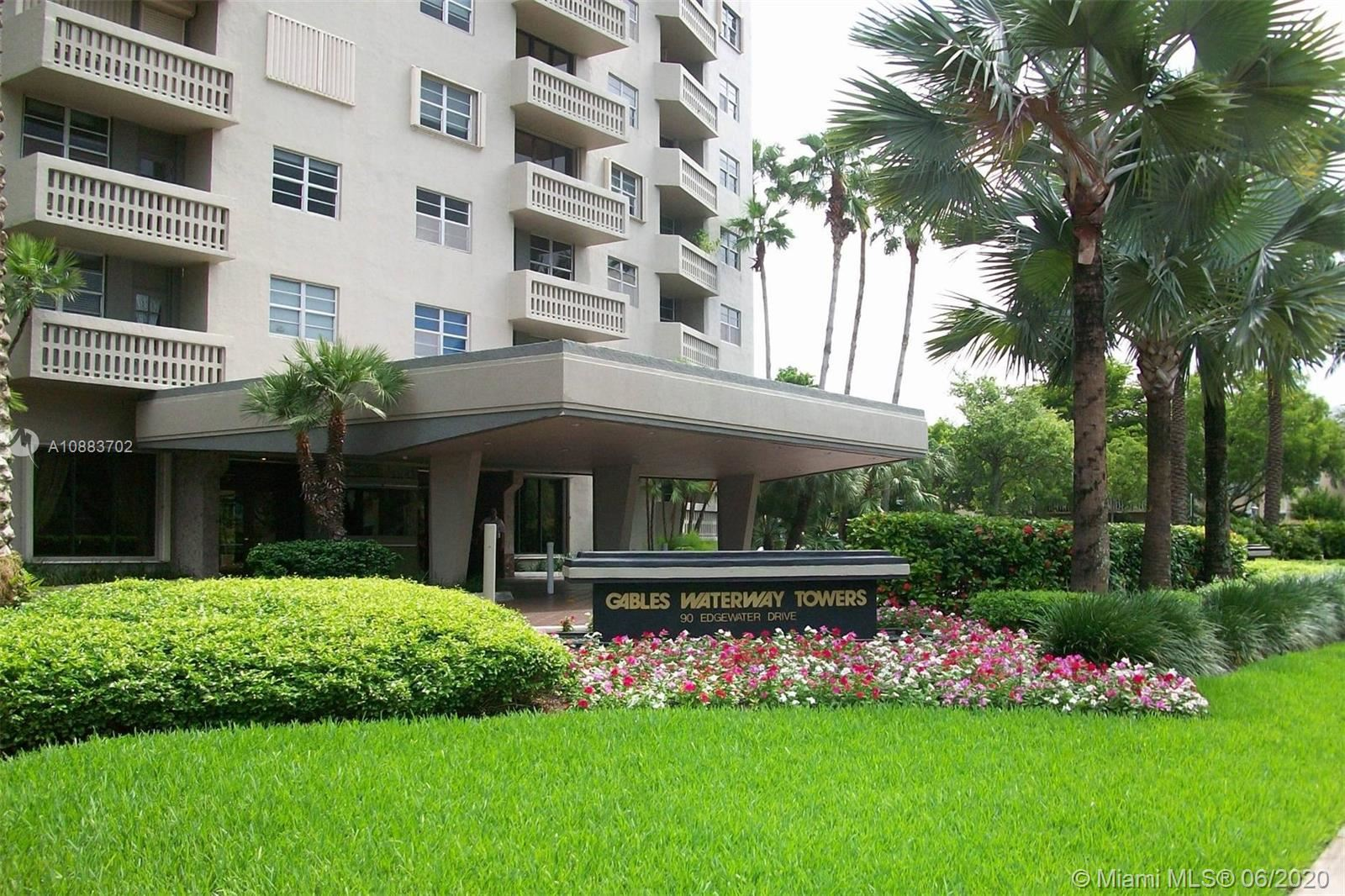 90 Edgewater Dr #402, Coral Gables, FL 33133 - #: A10883702