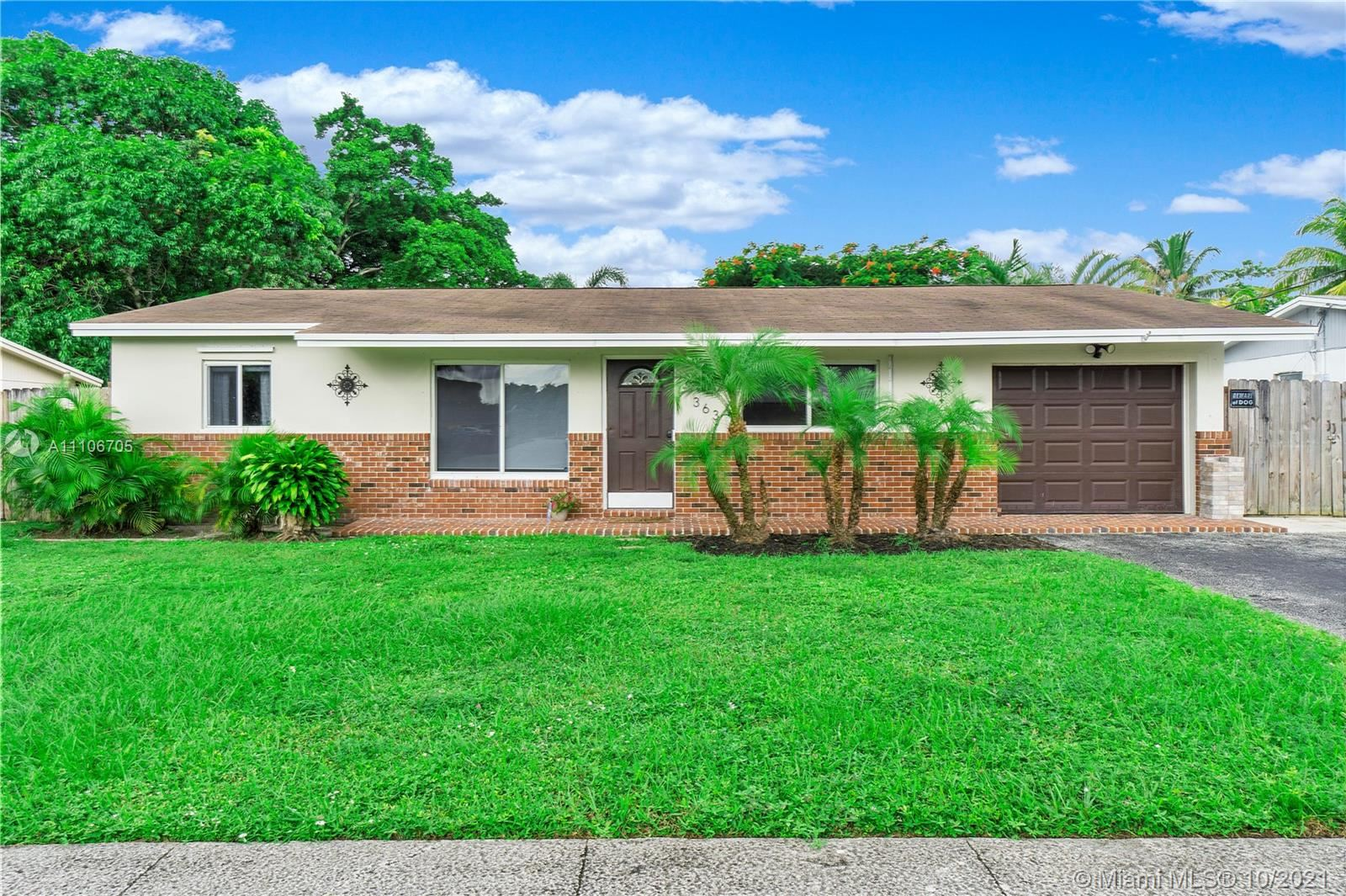Photo of 363 SW 65th Ave, Margate, FL 33068 (MLS # A11106705)