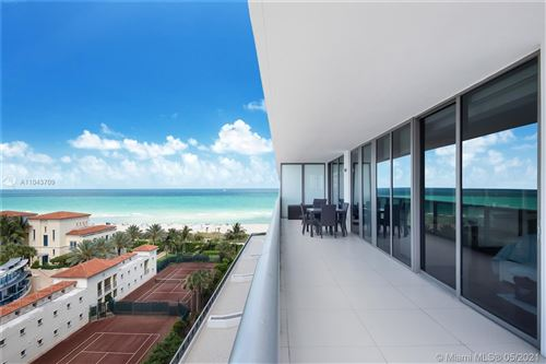 Photo of 5875 Collins Ave #907, Miami Beach, FL 33140 (MLS # A11043709)