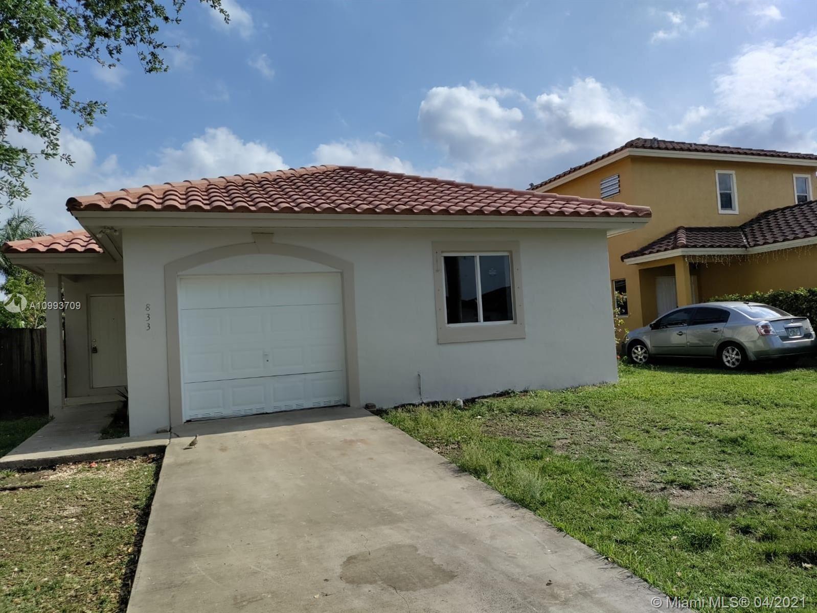 833 SW 6th St, Florida City, FL 33034 - #: A10993709